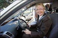 Gratis parkering med hydrogenbil