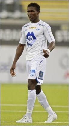 KOMET: Den tidligere Sarpsborg-spilleren Makthar Thioune har tatt eliteserien med storm. Foto: Scanpix