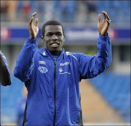 SENSASJONELL OVERGANG: Mame Biram Diouf går fra Molde til Manchester United. Foto: Scanpix.