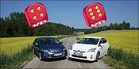 Honda Insight mot nye Toyota Prius