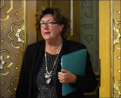 UTVALGSLEDER: Berit Brørby (Ap) ledet utvalget som i 2003 utredet stortingsrepresentantenes godtgjørelser. Foto: SCANPIX