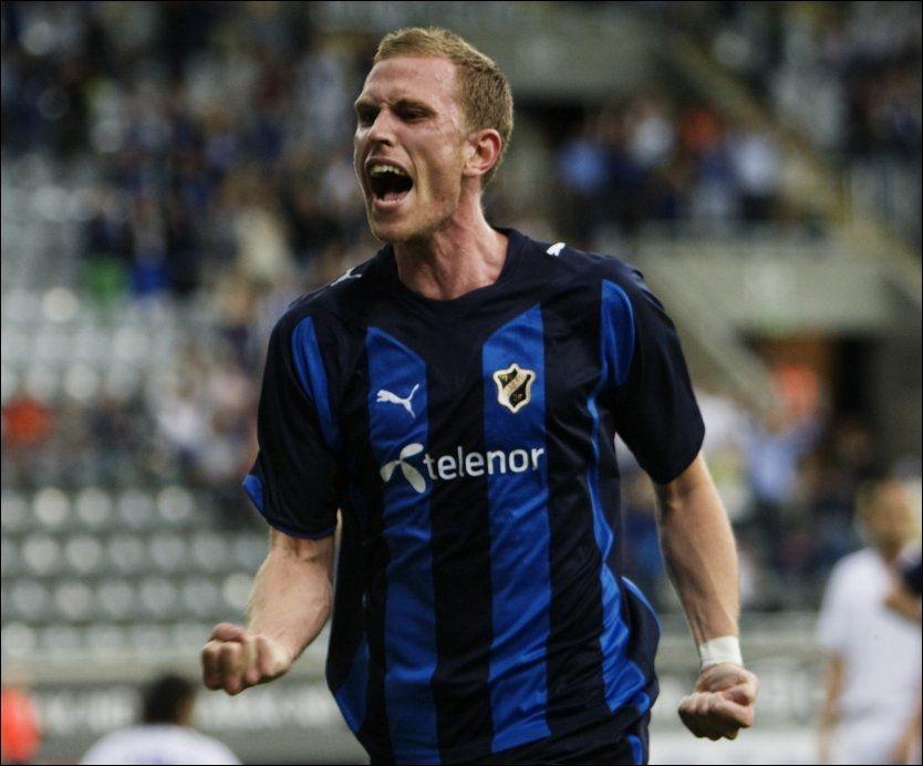 TOMÅLSSCORER: Svenske Pontus Segerström tror FCK skal få slite i Telenor Arena. Foto: Scanpix
