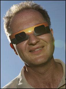 UTROLIG: - Helt utrolig, er Knut Jørgen Røed Ødegaards første reaksjon på solformørkelsen. Foto: Scanpix