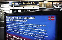 Gravid brite flydd til Sverige for influensabehandling