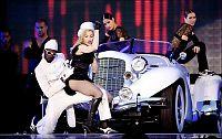 Elektrisk stemning for Madonna