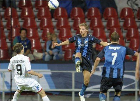 HAR TRO PÅ AVANSEMENT: Stabæk spilte godt mot FCK i Parken i kveld, men danskene tror likevel det er de som går videre i Champions League. Foto: Scanpix