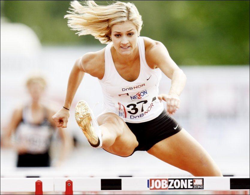 VM-KLAR: Christina Vukicevic reiser til friidretts-VM som en av 14 norske utøvere. Foto: Scanpix