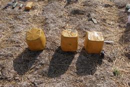 FANT BOMBER: Eksplosivene som ble funnet i Shirin Tagab-distriktet er av typen som blir brukt som veibomber. Foto: Forsvaret