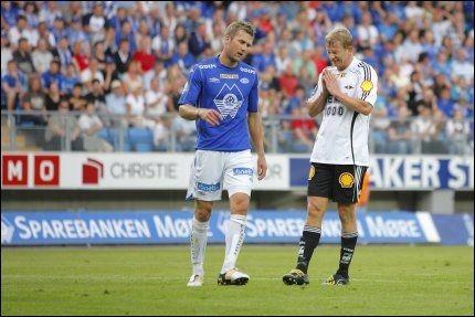 FORTVILET: RBKs Steffen Iversen var skuffet etter at han bommet på straffe. Foto: Scanpix