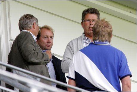 FULGTE KAMPEN: Kjell Inge Røkke var tilstedet på tribunen under cupkampen. Foto: Scanpix