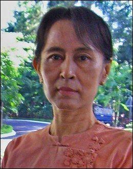 FREDSPRISVINNER: Aung San Suu Kyi fotografert i oktober 2007. Foto: AFP