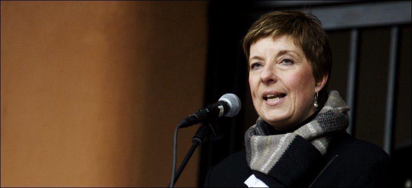 MISTET TROEN: Leder for Norsk Sykepleierforbund, Lisbeth Normann har mistet mye av troen på at Arbeiderpartiets likelønnspolitikk. Foto: Scanpix