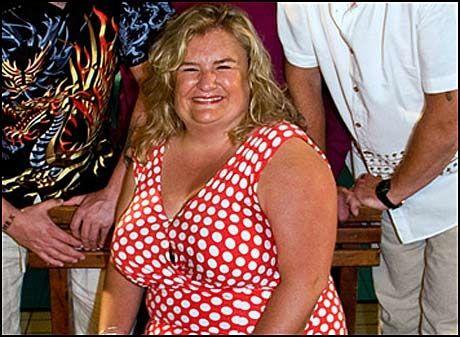 REALITYKJENDIS: Hilde Skovdahl Jørstad (40) falt ikke for noen av frierne i «Charterfeber» (bildet). Men nå har hun hell i kjærlighet. Foto: TV3