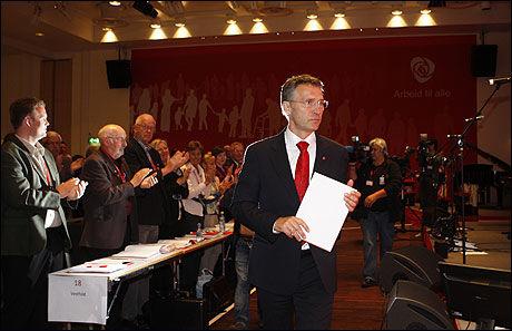 TJENER MEST: Arbeiderpartiets kandidater tjener mest, viser tall fra Statistisk sentralbyrå. Foto: Scanpix