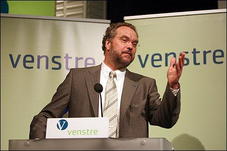 SIER IFRA: Lars Sponheim (V) støtter ikke dannelsen av en regjering hvor Frp deltar. Foto: Scanpix