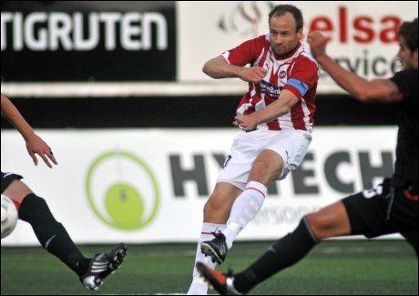 UTE: Sigurd Rushfeldt scoret TILs mål mot Athletic Bilbao, men laget er likevel ute av Europa League. Foto: Scanpix
