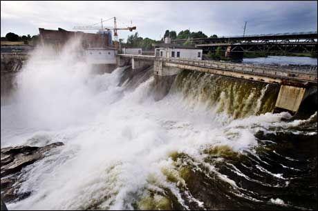 MER AV DETTE: Frp vil satse på vannkraft. Foto: Bjørn Frostad/VG