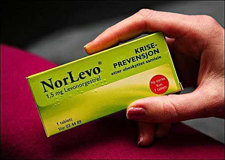ANGREPILLE: Angrepillen NorLevo er på markedet i dag og kan beskytte mot uønsket svangerskap i tre døgn etter samleie. Foto: AFTENPOSTEN
