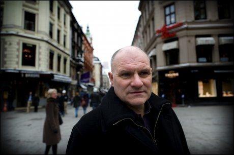 INNSPURT: SVs Olav Gunnar Ballo prøver å mobilisere i valgkampinnspurten. Foto: Robert S. Eik