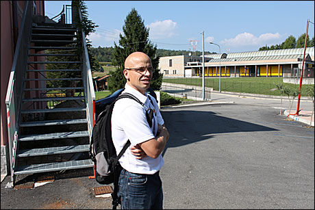 PRATER MED HUNGERHOLDT I DAG: LAndslagssjef Steffen Kjærgaard. Foto: Anders K. Christiansen