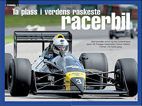 Faksimile: VG Fredag. Foto: Pål Hansen.