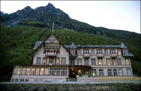 SPØKELSER: Hotel Union Øye er at av mange hoteller som skal være hjemsøkt av spøkelser. Foto: Aftenposten