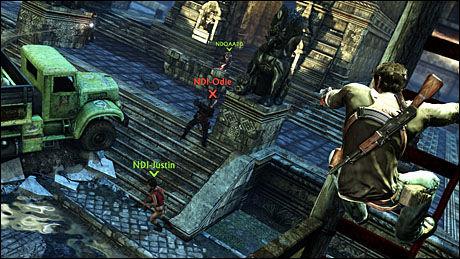 VELLYKKET MULTIPLAYER: Den omfattende multiplayer-delen som er inkludert i «Uncharted 2» er både vellaget og vellykket. Et svært hyggelig bonus til en strålende enspiller-opplevelse. Foto: NAUGHTY DOG/SONY