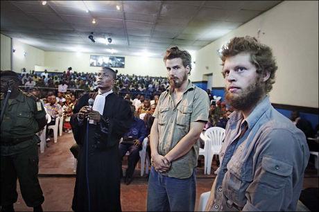 OPPDRAG I AFRIKA: Moland og French har tidligere bekreftet at de har hatt oppdrag i Afrika, blant annet som væpnet beskyttelse av privatpersoner og organisasjoner. Foto: FOTO: JØRGEN BRAASTAD
