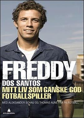 NY BOK: Onsdag lanserer Freddy Dos Santos sin bok «Mitt liv som ganske god fotballspiller». Foto: Gyldendal