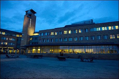 KVINNE DØDE: En kvinne i 30-årene fra Oslo døde på Rikshospitalet søndag. Foto: Scanpix