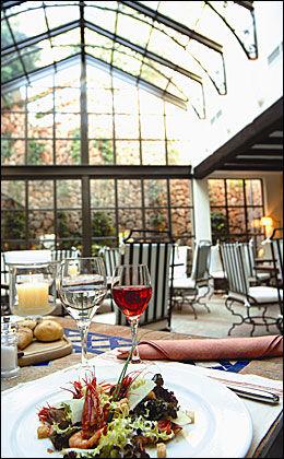 RESTAURANTER: La Residencia er også kjent for sine gode restauranter. Foto: Orient-express