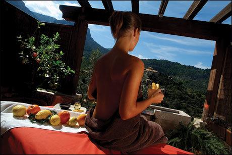 SPA: La Recidencia, som blir et av de nye Blue Unique-hotellene på Mallorca, har også en stor spa-avdeling. Foto: Orient-express