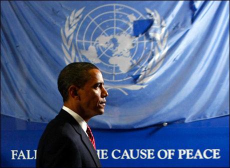 FIKK FREDSPRISEN: Nobelkomiteen valgte å gi prisen til Barack Obama på grunn av hans engasjement for fred og dialog. Foto: Reuters