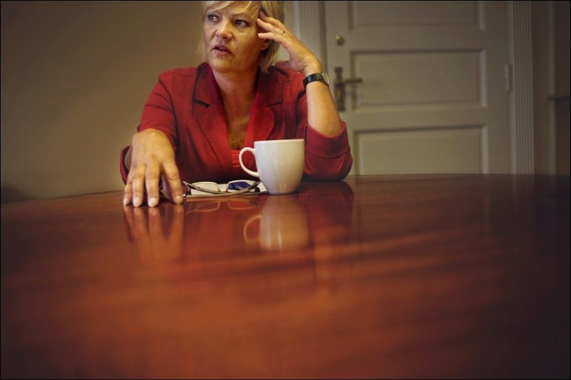 FORVENTER INNSTRAMMINGER: Det er ventet at finansminister Kristin Halvorsen (SV) kommer til å stramme inn noe på de økonomiske krisetiltakene som ble satt inn i forrige statsbudsjett. Foto: Simen Grytøyr/ VG