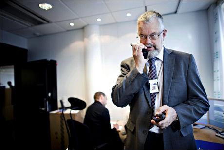 DÅRLIG DEKNING: Direktør Tor Helge Lyngstøl i Direktoratet for nødkommunikasjon har hatt manglende dekning både økonomisk og i nødnett. Foto: Marte Vike Arnesen