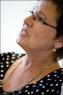 FORNØYD: Helga Hjetland, leder i Utdanningsforbundet, er glad for satsingen, men sier det trengs mer penger. Foto: Sara Johannessen/Scanpix