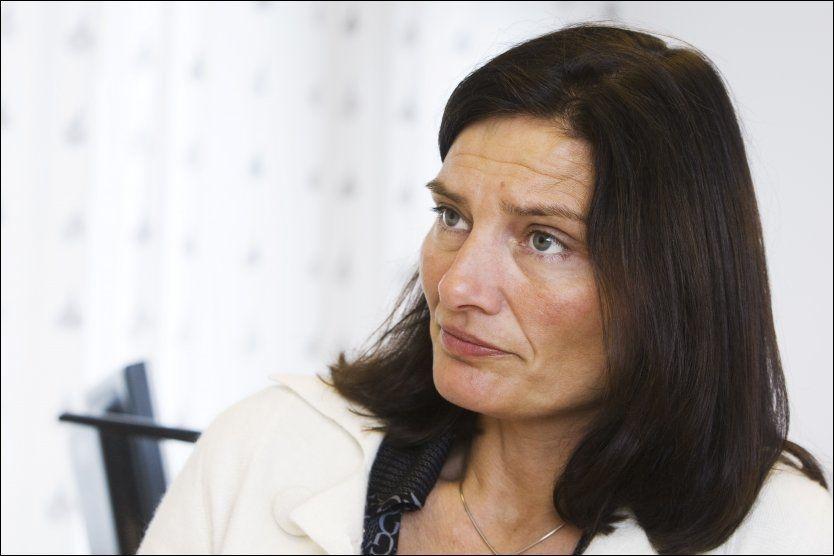 ADVARER: Statssekretær Libe Rieber-Mohn blir nevnt som kandidat til å lede et nytt integreringsdepartement. Representanter for innvandrermiljøet frykter hun vil bidra til økt polarisering av integreringsdebatten. Foto: Frode Hansen