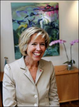 BLIR HELSEMINISTER: Anne Grete Strøm-Erichsen. Foto: Nils Bjåland