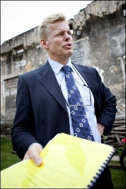 BEKYMRET: De to nordmennenes advokat, Morten Furuholmen, er bekymret. Foto: SCANPIX