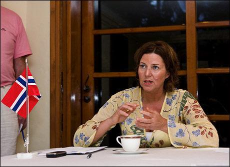TAR OVER: Hanne Bjurstrøm (Ap) fra Oslo blir ny arbeidsminister etter klimatoppmøtet i København. Foto: Kristian Helgesen