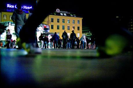 UTSATT NARKOMILJØ: Narkomane på Plata i Oslo og andre tunge narkotikamiljøer er spesielt utsatt for svineinfluensa på grunn av dårlig immunforsvar. Foto: Arkivfoto: Sara Johannessen