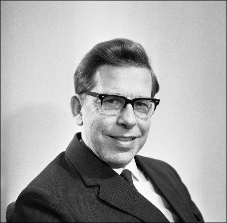 MISJONÆRHØDVING: Olav Hodne. Bildet er tatt i 1967. Foto: NTB/Scanpix