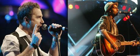 FAVORITTER: Flere av de store plateselskapene er skeptiske til nivået på «X Factor», men Chand og Tommy er blant de som får skryt. Foto: Scanpix