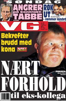 Faksimile: VG 1. november.