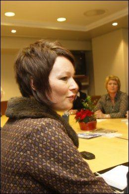 KREVER NØDVERGERETT: Stortingsrepresentant Line Henriette Holten Hjemdal (KrF). Foto: Scanpix