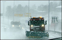 Varsler stort snøfall på Sørlandet