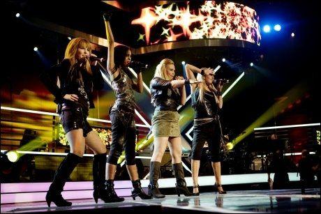 ABBA-STIL: Shackles vartet opp med en Abba-opptreden. Her fra en tidligere anledning. Foto: SCANPIX