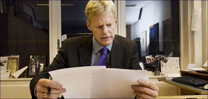 RASER: Forsvarer Morten Furuholmen mener retten misbruker en psykisk syk Tjostolv Moland. Foto: Frode Hansen