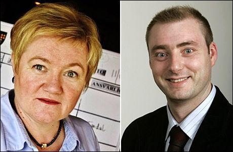 VIL STENGE: Sylvi Graham (H) og Frps Robert Eriksson vil stoppe ordningen. Foto: Aftenposten/ VG