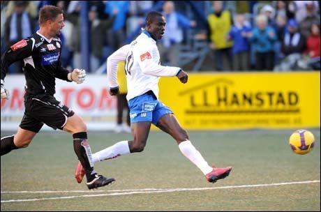 BEST I NORGE: - Kim Ojo har høyest potensial i norsk seriefotball, mener Sundet-trener Ola Brenden. Foto: Jan Morten Frengstad, Østlendingen